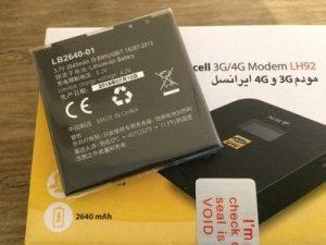 باتری اورجینال مودم همراه ایرانسل LH92
