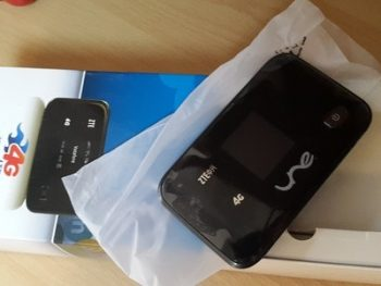 مودم همراه ZTE 4G MF93D UNE Portable WIFI Modem