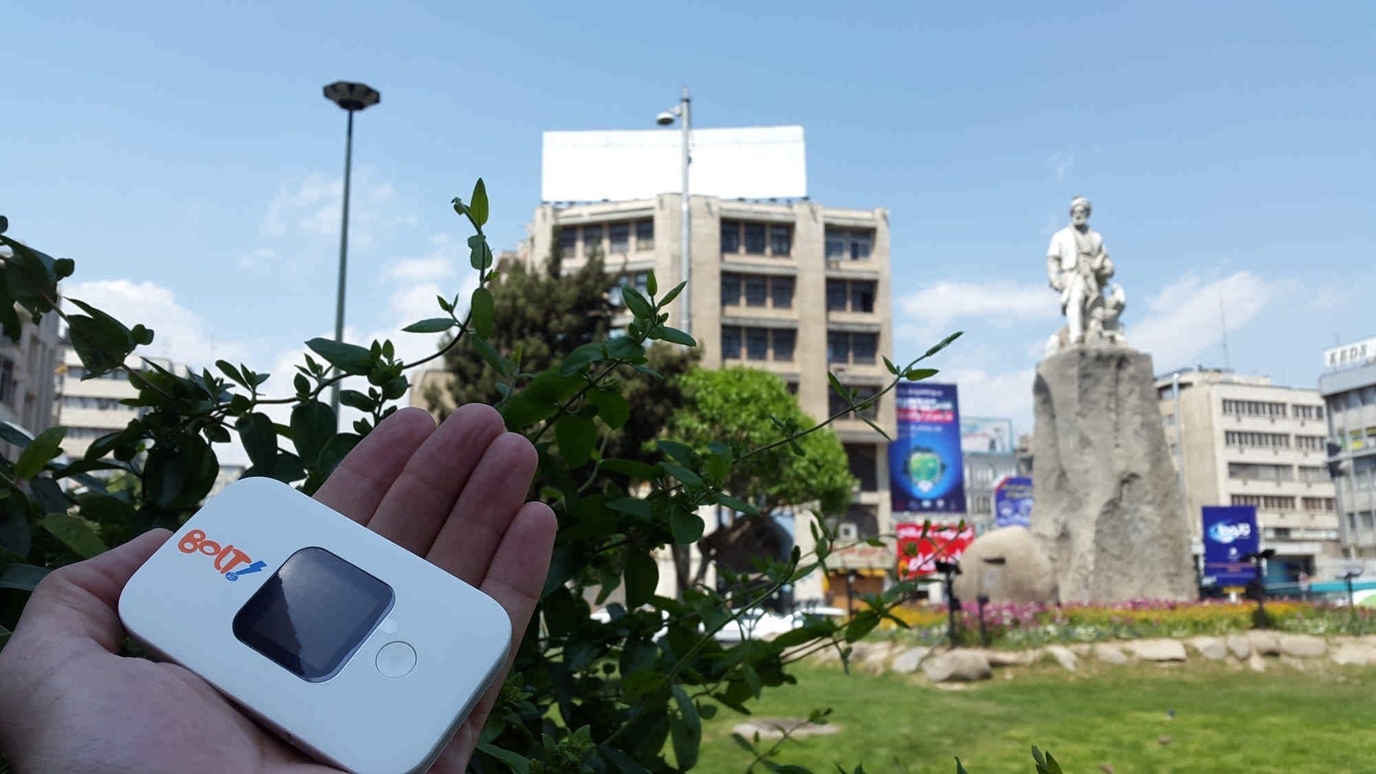 مودم همراه 4G هوآوي مدل E5577 Huawei WIFI Portable Modem