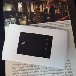 مودم ZTE MF920 A 4G+ LTE WiFi Portable Modem
