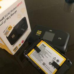 باتری مودم همراه ایرانسل ZTE MF910 Irancell ظرفیت 2300 میلی آمپر