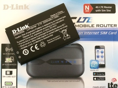 باتری مودم دی لینک D-Link DWR-932C E1 ظرفیت 2000mAh